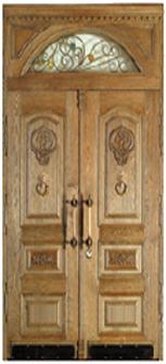 стальные двери варианты отделки массив