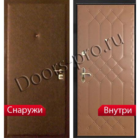 купить металлическую дверь винилискожа
