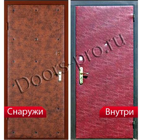 накладная на проем металлическая дверь